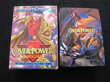 VINTAGE 1990's PLAYING CARD GAME - MARVEL OVER POWER - SWORN TO PROTECT c1995