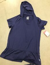 Ladies Danskin Now Dri-More Top Blue Size 4-6 Small New