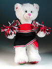 """New Teddy Bear cheerleading clothes red/black fits 14""""-18"""" bear"""