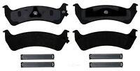 Disc Brake Pad Set-Semi Metallic Disc Brake Pad Rear ACDelco Advantage 14D667AMH