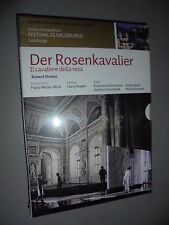 DVD DER ROSENKAVALIER IL CAVALIERE DELLA ROSA WELSER-MOST STOYANOVA SALISBURGO