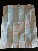 VINTAGE MAP PWLLHELI 1952 LARGE MAP ORDNANCE SURVEY 115 NORTH WEST WALES UK