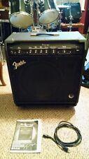 """Fender Bassman 100 Bass Guitar Amp 15"""" Woofer + Piezo Horn 100 Watt"""