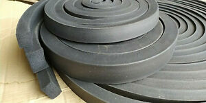 Foam Rubber EPDM Square Profile 25x20 MM As Sold by the Meter Rubber Seal