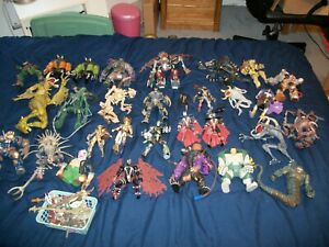 McFarlane Toys LOT of (30) SPAWN Action Figures 90's Complete W/ ACCESSORIES!!!