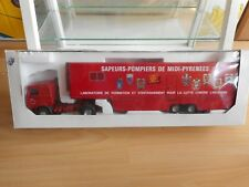 LBS Eligor 340H Sapeurs-Pompiers de Midi-Pyrenees in Red on 1:43 in Box