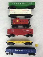 LIONEL FREIGHT TRAINS lot of 6 - CN 9013 , Motorcraft FMC 904  Must See USA
