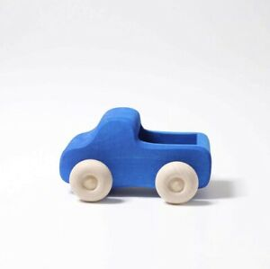 New Grimm's Little Blue Truck Wooden Toy