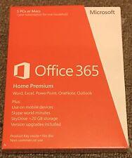 Microsoft Office 365 Home Premium For 5 PCs Or Macs
