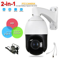 "Security 4"" 960H Speed Dome IR PTZ Camera HD Analog 36X ZOOM IP66 Coax RS485 PTZ"