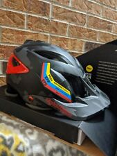 Troy Lee Designs A3 MIPS Helmet Camo Gray/Red Size XS/SM