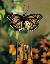 BUTTERFLY WIND CHIME PLASTIC CANVAS PATTERN INSTRUCTIONS