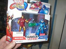Marvel Vs Capcom Gamer Verse Iron Man Versus Mega Man X , Sealed, Never Opened