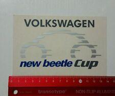 Autocollant/sticker: volkswagen New Beetle Cup (150316153)