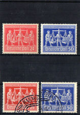 Alliierte Besetzung - Briefmarkensatz 1948 Gestempelt u. Postfrisch