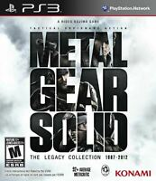 Metal Gear Solid The Legacy Collection - Sony Playstation 3 [8 Games in One] NEW