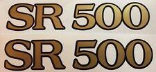 YAMAHA SR500 latéral PANNEAU STICKERS