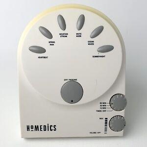 Body Basics Homedics Soothing Sound White Noise Machine for Sleep Apnea