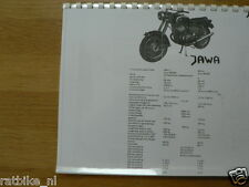 J0004 JAWA---TECHNICAL INFO 250cc TYPE 559/04 +---350cc TYPE 360/00 CALIFORNIA