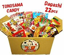 "Japanese candy assortment 22pcs , full of dagashi. ""TONOSAMA CANDY"" FREE SHIP"