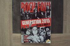 Magazine ROCK & FOLK n° 570 - Generation 2015 -02/2015