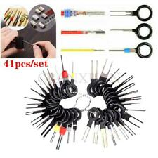 41Pcs Terminal Removal Tools Car Electrical Wiring Connector Pin Extractor Kit (Fits: Daewoo)