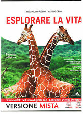 ESPLORARE LA VITA seconda edizione Rusconi Crippa  9788824745468 come nuovo