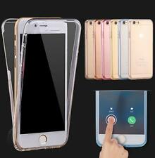 """Shockproof Hybrid Back+Front Rubber  Cover Case For iPhone 6S/6 7 4.7""""/5.5"""" Plus"""
