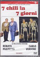 Dvd  7 CHILI IN 7 GIORNI con Renato Pozzetto Carlo Verdone nuovo 1986