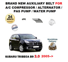 FOR SUBARU TRIBECA 3.0i B9 2005  AUXILIARY BELT FOR AC ALTERNATOR PAS WATER PUMP