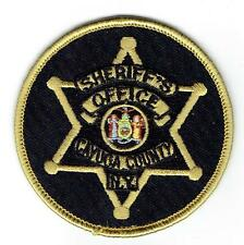 CAYUGA COUNTY NEW YORK SHERIFF`S OFFICE  POLICE PATCH/