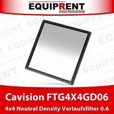 Cavision 4x4 gradual neutral density/historial ND 0.6 filtro (ftg4x4gd06) eqa08