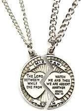 Mizpah Necklace Set Sweetheart Gift Lord Watch Between Me And Thee Mizpah Coin