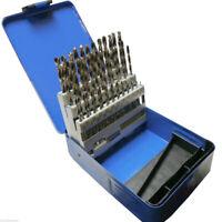 3X(Set di punte da trapano da ingegneria 51pz Hss da 1 a 6mm con incrementi V5D7