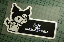 MAZDASPEED Sticker Decal Vinyl JDM Euro Drift Lowered illest Fatlace