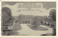 Home Acres Motor Court in Milford CT Roadside Postcard