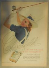 Chesterfield Cigarette Ad: Fly Fishing ! Tabloid Page 1939