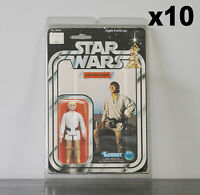 10 x Protective Figure Case For Star Wars 3 3/4 Inch MOC Action Figures