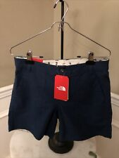 NWT The North Face $45 Blue Wing Teal Ridgeside Short 4 Long