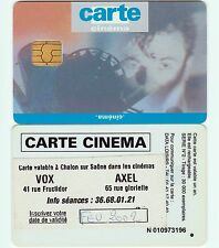 CC1E...CARTE CINEMA...REPIQUAGE CHALON S. SAONE (RARE !)..SC-C...SERIE N°2...TBE
