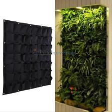 56 Pocket Garden Vertical Planter Wall Mount Living Growing Bag Felt In/Outdoor