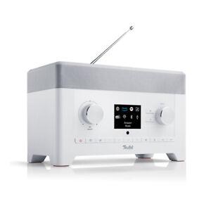 TEUFEL RADIO 3SIXTY Weiß DAB+ Digitalradio Bluetooth Stereo Lautsprecher