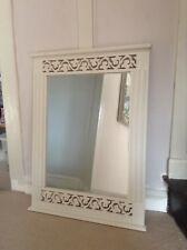 GRANDE specchio bianco shabby chic