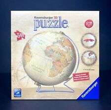 Ravensburger 3D Puzzle 540 Piezas Vintage Globo Navidad geográfica rara Sellada