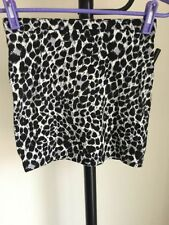 H&M Cotton Blend Short/Mini Casual Skirts for Women