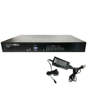 Sonicwall TZ600 High Availability Security Appliance w/ 12 active Licenses 2023