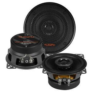 Musway MS42 10 cm 2-Wege-Lautsprecher 120 Watt (RMS: 60 Watt)