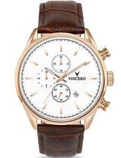 Vincero S Quartz Chronograph Men's Watch Veni Vidi Vici Live Your Legacy