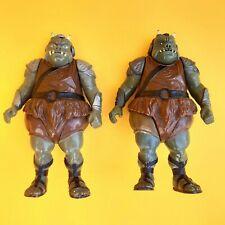 Vintage Star Wars x2 Gamorrean Guard Variants No COO & Macau Dark & Light Armour