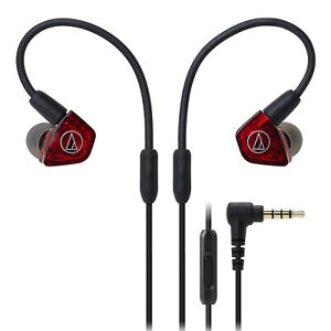 Audio-Technica ATH-LS200iS In-Ear Headphones with Mic